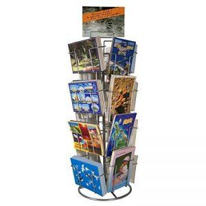 Support de carte de compteur Support de carte de visite pour des cartes postales 16 motifs rotatifs de la marque GERSO image 0 produit