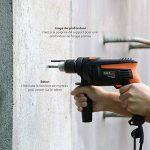 Tacklife Perceuse Percussion 710W, 2800tr/min Perforateur Taille de Mandrin 0-13mm, Poignée Rotative à 360°, 31pcs Kit D'accessoires PID01A de la marque Tacklife image 3 produit