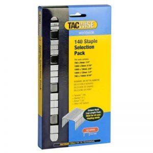 Tacwise 0350 Boîte de 4 400 Agrafes de Type 140 Mélangées (6-14mm) de la marque Tacwise image 0 produit