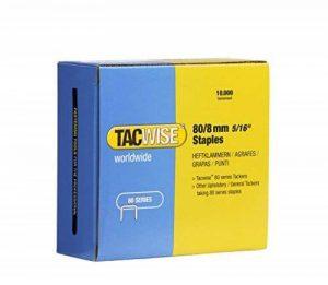 Tacwise 0382 Boîte de 10000 agrafes 80/8mm de la marque Tacwise image 0 produit