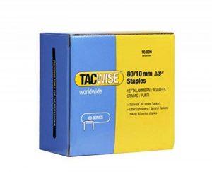 Tacwise 0383 Boîte de 10000 Agrafes galvanisées 10 mm Type 80 de la marque Tacwise image 0 produit