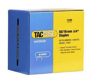 Tacwise 1141 Boîte de 10000 Agrafes galvanisées 16 mm Type 80 de la marque Tacwise image 0 produit