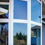 XC KINLO 300x75CM Film Miroir Fenêtre Electrostatique Anti Chaleur Films pour Fenêtre PVC Protection de Solaire Auto-Adhésif Anti 99% UV Film Vitrage pour Maison Bureau Magasin (Bleu Argent) de la marque XC image 1 produit