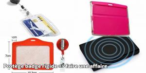 100% authentic purchase cheap free delivery Protège badge rigide => faire une affaire – Ma Fourniture Bureau